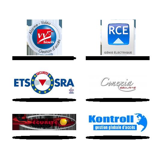 Les partenaries de Silène Systèmes, Systèmes de Contrôle d'accès Bâtiments