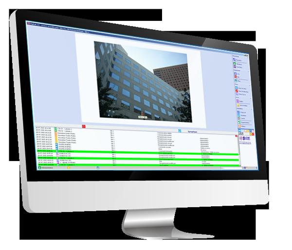 Logiciel Digitale Silène Systèmes, contrôle d'accès